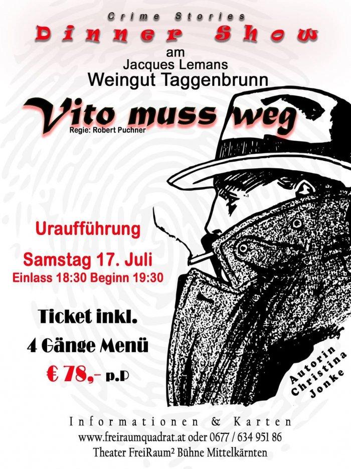 "Dinner-Krimi ""Vito muss weg"" von Christina Jonke"